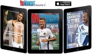 David Beckham Featured in an Exclusive Article in the Latest Issue of YouWorkout Magazine