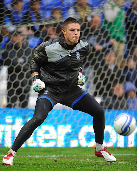 Jack Butland could start the season as Birmingham City's first-choice goalkeeper