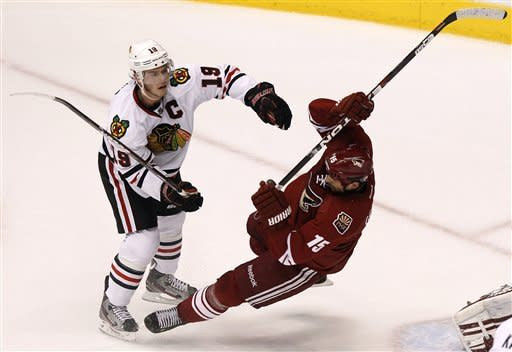Coyotes-Blackhawks Preview