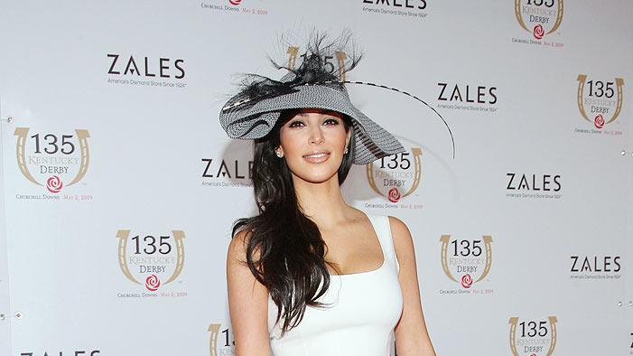 Kardashian Kim Kentucky Derby