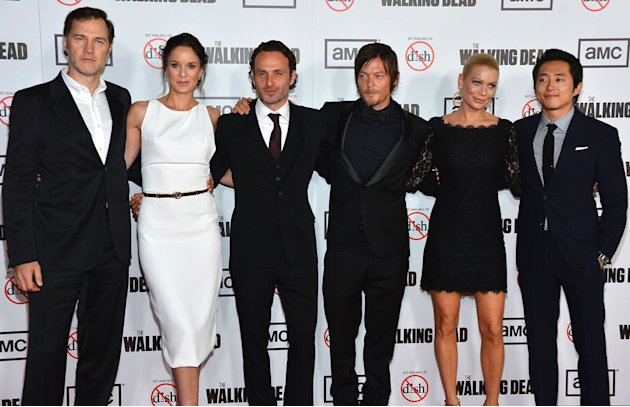 Premiere Of AMC's &quot;The Walking Dead&quot; 3rd Season - Arrivals