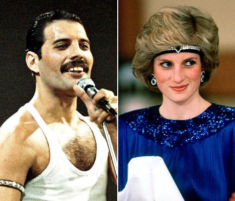 Princess Diana Dressed as Man to Sneak Into Gay Bar With Freddie Mercury