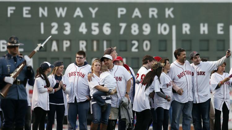 Red Sox remember Boston Marathon victims