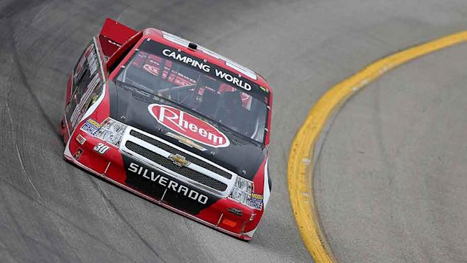 Gale makes his mark in final Truck practice
