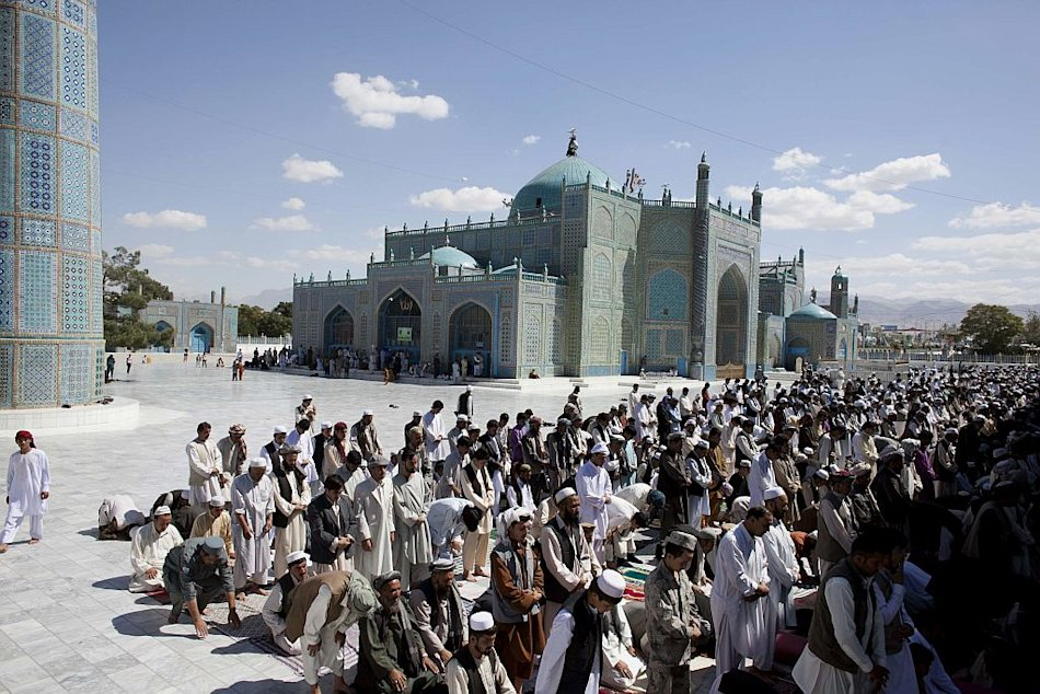 Mazar e Sharif Mosque Afghanistan