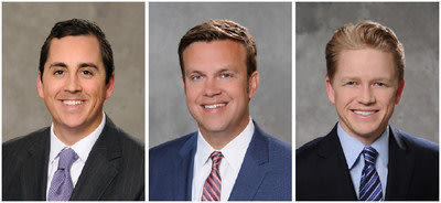 Benjamin Gott, John Pomer and Korbin Duley join Stream Realty Partners' Orange County Office.