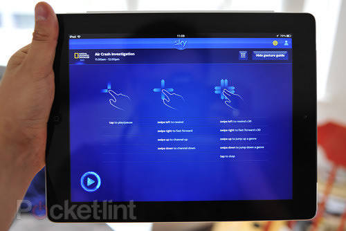 Sky+ iPad app update pictures and hands-on. Apps, Sky, Sky+, Sky+ app, iPad, Apple 0