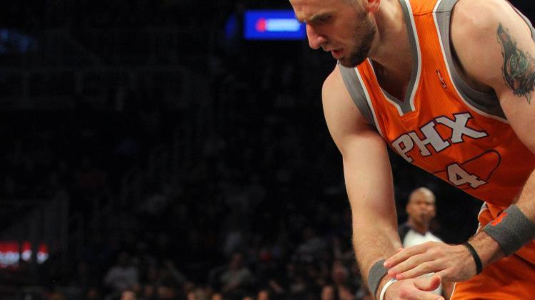 NBA: Phoenix Suns at Brooklyn Nets