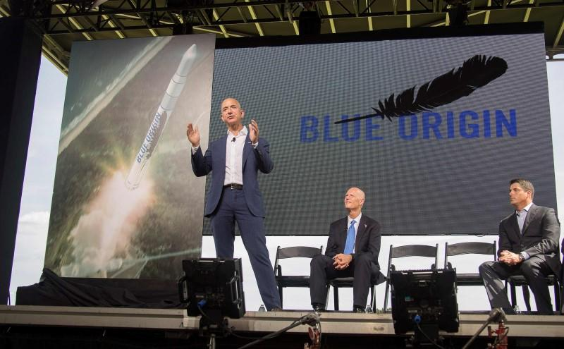 Amazon founder Bezos' rocket company passes landing test
