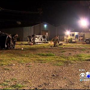 3 Injured In Fort Worth Rollover Crash