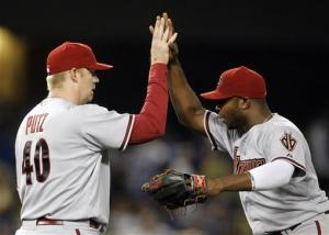 Upton's 2-run homer lifts D-backs to 9-7 win