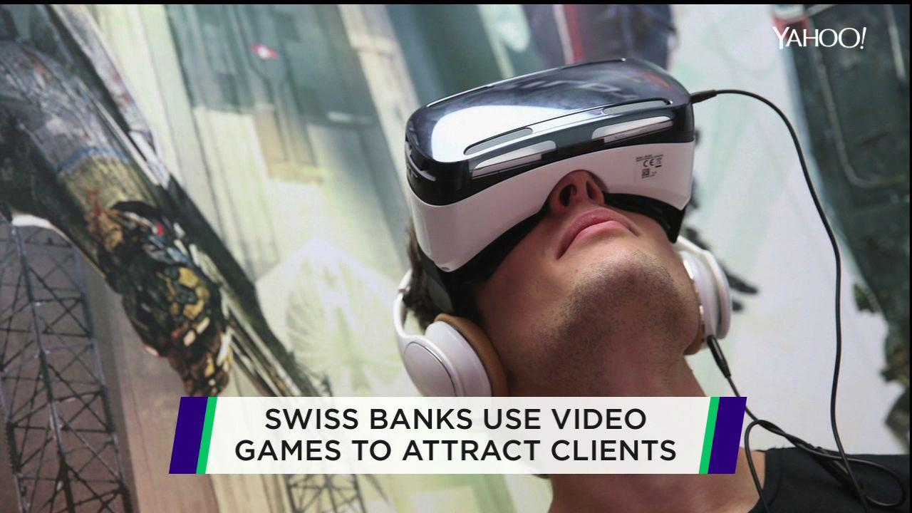 Game on! Banks use video games to attract younger clients