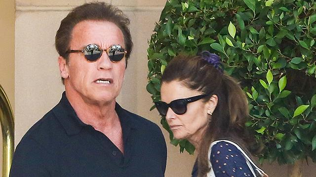 Arnold Schwarzenegger Spends His 68th Birthday With Maria Shriver