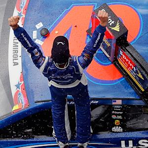 Almirola and The King reflect on win
