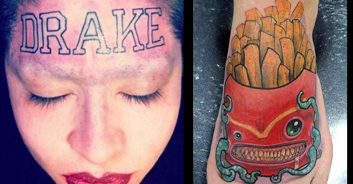 The Worst Tattoos Discovered!