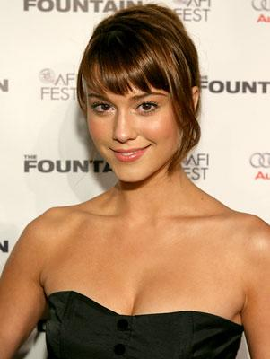 Mary Elizabeth Winstead at the Hollywood premiere of Warner Bros. Pictures' The Fountain