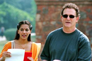 Sheetal Sheth and Albert Brooks in Warner Independent Pictures' Looking for Comedy in the Muslim World