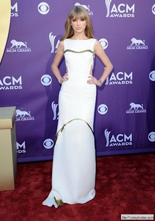taylor swift acm 2012