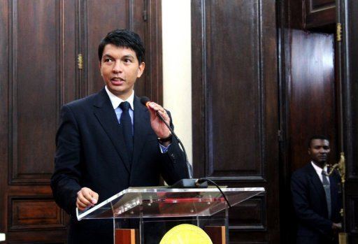 &lt;p&gt;Madagascan leader Andry Rajoelina, pictured, and the man he toppled Marc Ravalomanana are set to hold landmark talks Wednesday to tackle the critical issues blocking the island&#39;s path to new elections.&lt;/p&gt;