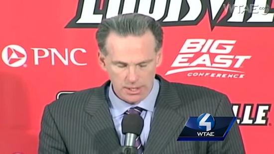 Postgame: Jamie Dixon talks about Pitt loss at Louisville