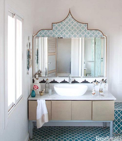 Bathroom in Morocco