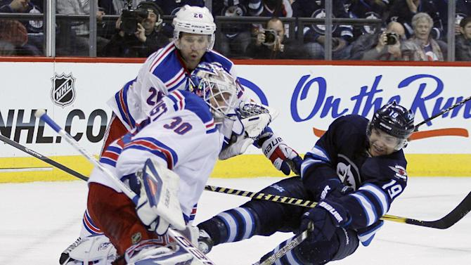 Lundqvist ties Rangers' win mark vs. Jets