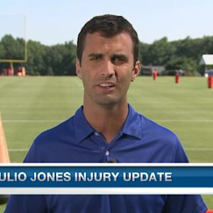Atlanta Falcons wide receiver Julio Jones injury update