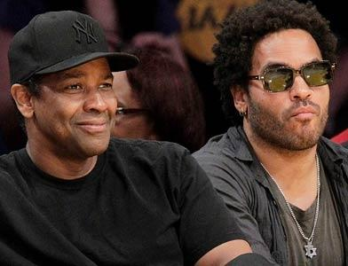 pst Celebs At Lakers Game