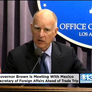 Gov. Brown To Meet Mexican Official