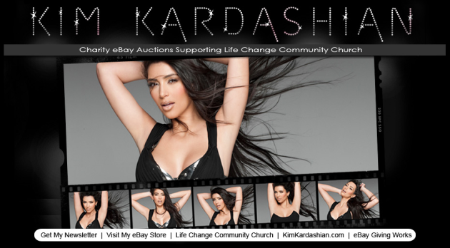 Calling All Kim Kardashian Wannabes! You Can Buy Her Designer Wardrobe On eBay!