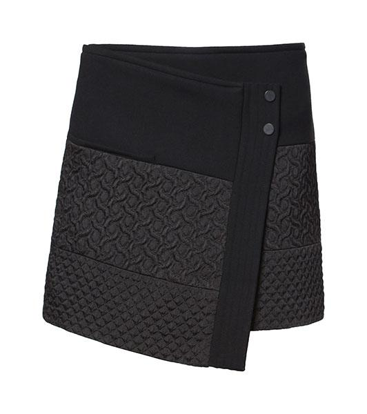 Jaquard Mini Skirt, $79.90 at zara.com
