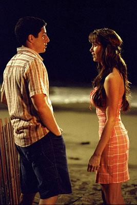 Jason Biggs and Shannon Elizabeth in Universal's American Pie 2