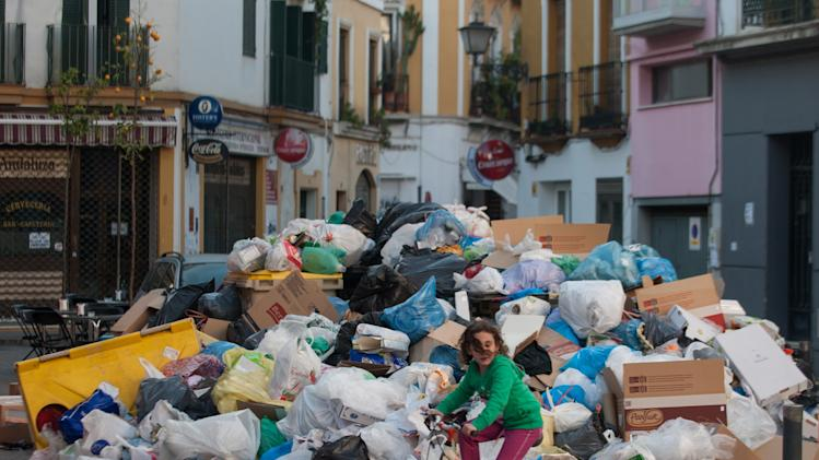 Seville Waste Disposal Strike