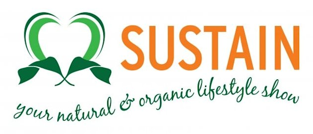 Sustain natural & organic lifestyle show logo