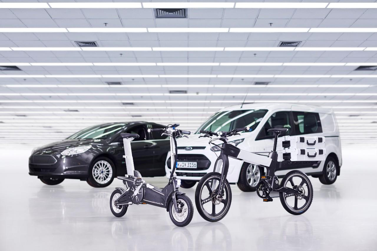 Ford gets on its bike for the Mobile World Congress