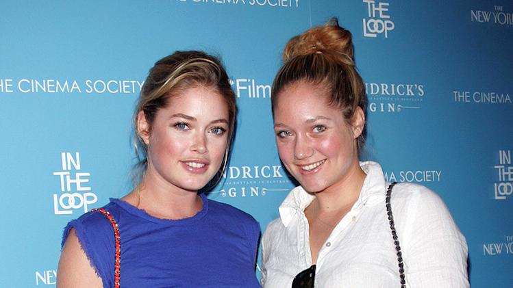 In the Loop NY Screening 2009 Doutzen Kroes Rens Kroes