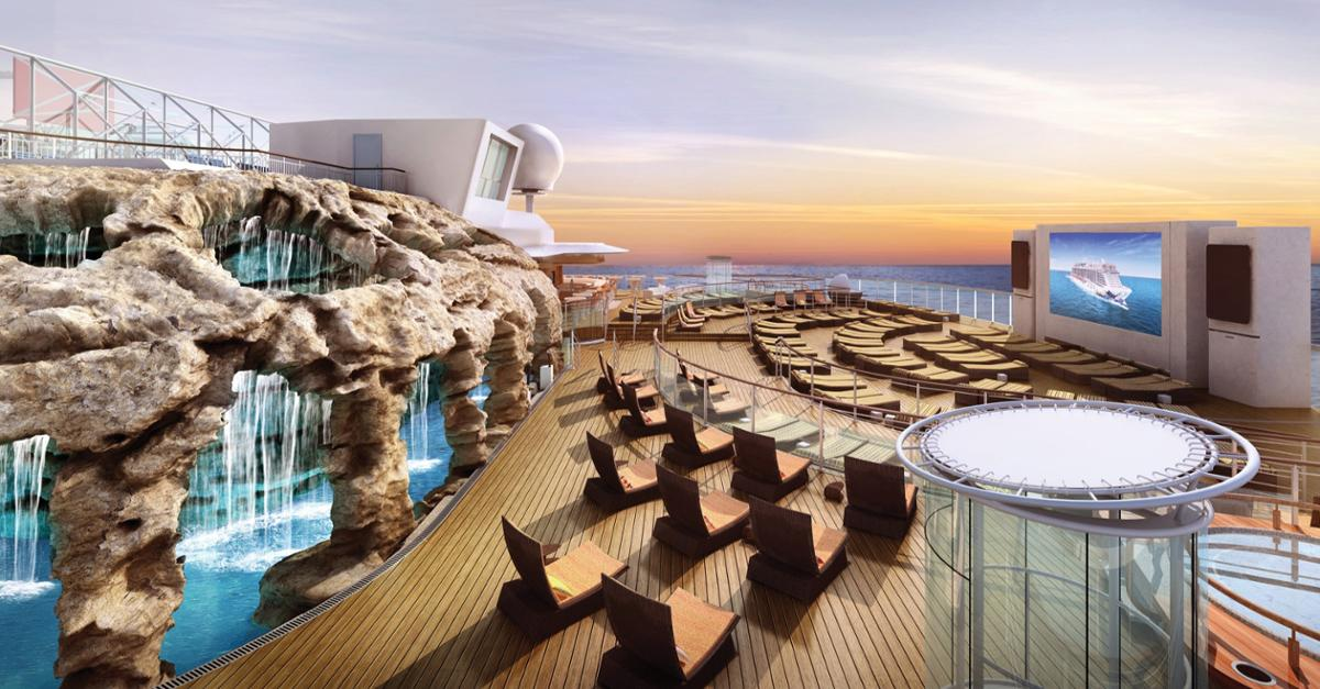 See 25 Pictures from Norwegian's New Cruise Ship