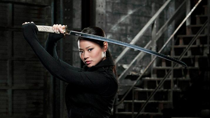 "Jamie Chung stars as ""Heaven"" in Samurai Girl."