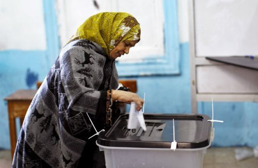 Egyptians voted on Saturday in the final round of a referendum on a new constitution championed by President Mohamed Morsi and his Islamist allies against fierce protests from the secular-leaning opposition