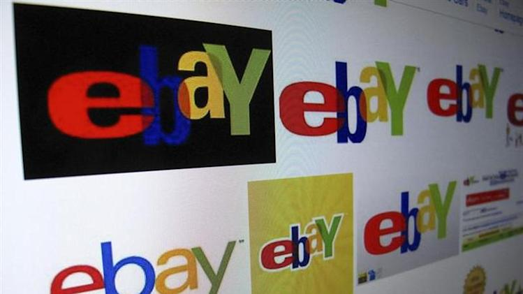 The results of a Google image search on Ebay are shown on a monitor in this photo illustration in Encinitas, California, April 16, 2013. REUTERS/Mike Blake