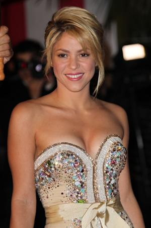 Shakira attends the NRJ Music Awards 2012 at Palais des Festivals, Cannes, France, on January 28, 2012 -- FilmMagic