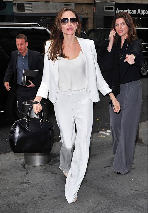 Angelina Jolie NY Hotel