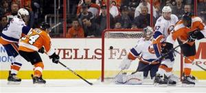 Read, Jagr lead Flyers over Islanders