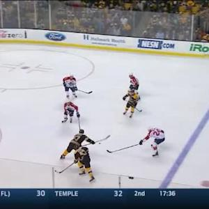 Roberto Luongo Save on Patrice Bergeron (07:53/2nd)