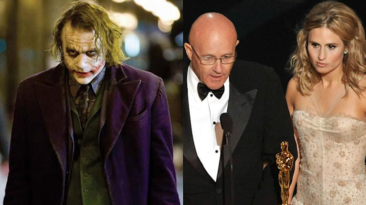 Heath Ledger, Best Supporting Actor of 2008, 'The Dark Knight'