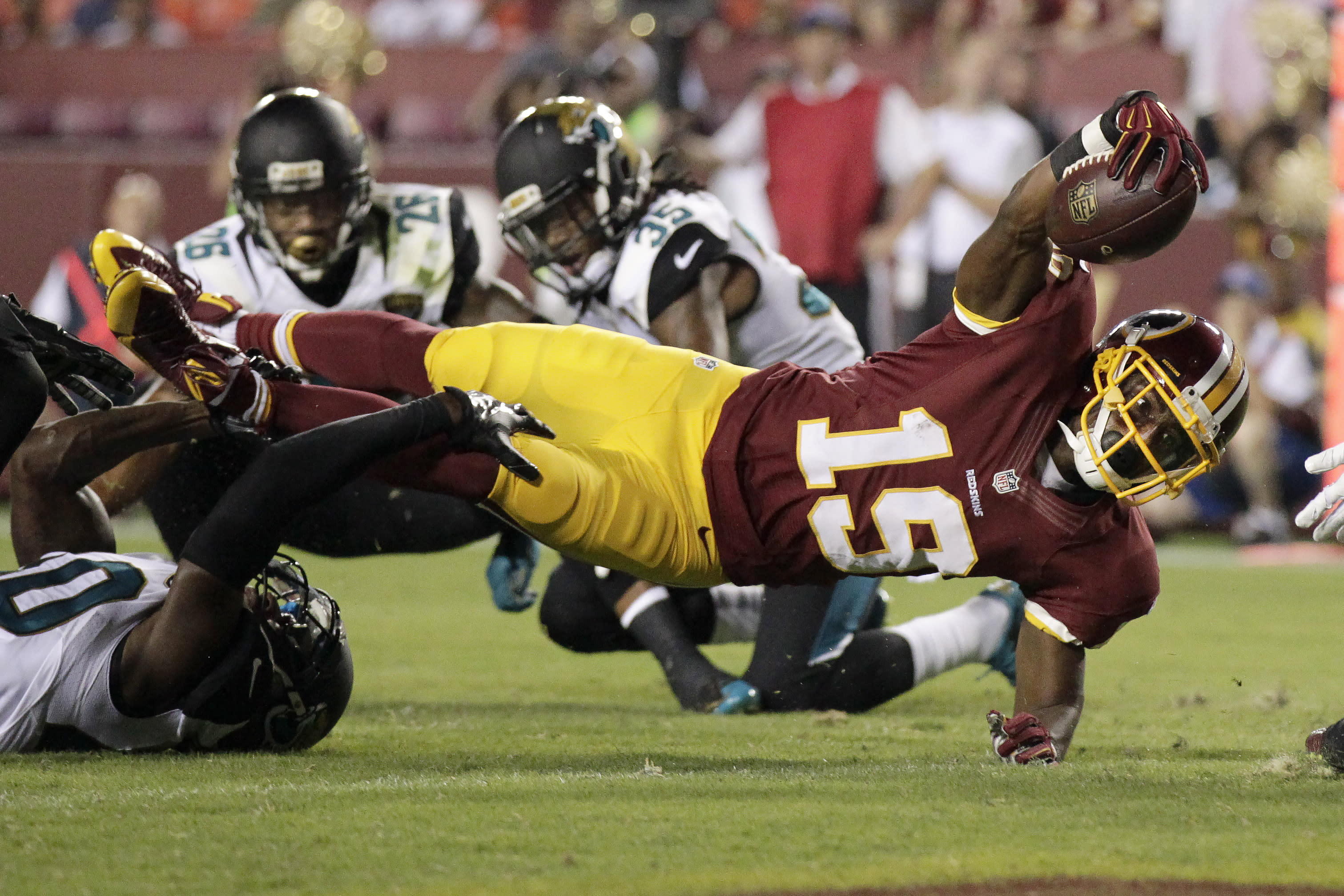 Redskins roster: Who's in, who's out?