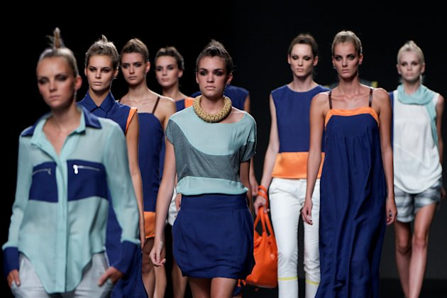 Mercedes Benz Fashion Week Madrid S/S 2013 - Maria Barros and Sara Coleman
