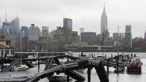 East Coast Residents Very Slowly Get Back On Their Feet After Sandy