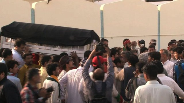 Pakistan: funrailles  Karachi d&#39;une responsable du PTI