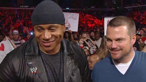 NCIS LA Stars LL Cool J and Chris O'Donnell Join RAW